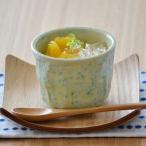 グリーン貫入 プリンカップ アウトレット  和食器 湯呑み コップ カップ アウトレット食器 小鉢