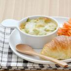 持ち手付きミニグラタン ホワイト オーブンOK! アウトレット     洋食器 ナチュラル カフェ食器 白い食器 耐熱 離乳食食器 ベビー食器
