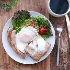 ミニマム丸プレート 白 アウトレット 19.5cm  中皿 ケーキ皿 白いお皿 トースト皿 白い食器 サラダ皿 ポーセリンアート