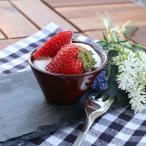台形スライドボウル(7cm) アメ (アウトレット)カフェ食器 おしゃれな食器 小鉢 ソース入れ パーティー おもてなし食器 かわいい 日本製 美濃焼