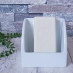 石鹸置き 陶製 スポンジ&ソープディッシュ 石鹸ケース ソープトレイ スポンジ置き サニタリーグッズ キッチン用品 洗面用具