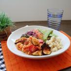 すこし深めのオーバルパスタ皿 23cm ホワイト(アウトレット)大皿 ディナープレート 白いお皿 パスタ皿 白い食器 デザート皿