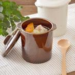 EASTオリジナル 和カフェスタイル ジャポネココット蓋付 アメ アウトレット込み     茶碗蒸し スープカップ デザートカップ 耳付きカップ あすつく
