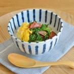 アウトレット込み 染付け ダミ十草 軽量多様丼ぶり 小  和食器 丼 どんぶり ボウル 子供用ラーメン 麺鉢