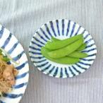 小皿 和食器 染付け ダミ十草 三角3.5寸皿   和皿 銘々皿 お皿 染付 プレート 美濃焼 磁器 アウトレット食器 かわいい おしゃれ