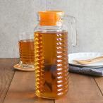 ガラスピッチャー 1L 冷蔵庫用 水差し 麦茶ポット 冷水ポット ウォータージャグ ピッチャー ジャグ ポット 麦茶入れ 水入れ 水出しボトル ウォーターカラフェ