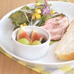 ホワイトスフレカップ 8cm    白い食器 おうちカフェ オーブン使用可能 ココット 離乳食食器 ベビー食器