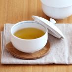 白磁 蓋付き煎茶碗 アウトレット   フタ付き 白 ゆのみ 湯飲み 湯呑 汲み出し 汲出碗 茶器 ポーセリンアート