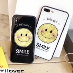 iPhone XR ケース アイフォンxr アイフォン8 iPhone8 iPhone7 アイフォン7 スマホケース スマイル ニコちゃん