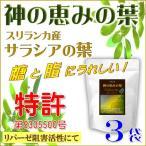 サラシア茶 神の恵みの葉 コタラヒムブツの葉 スリランカ産サラシアレティキュラータ 気になる糖と脂 ダイエットサポートに 品質実感の3袋セット 送料無料