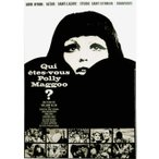 『QUI ETES-VOUS POLLY MAGGOO? ポリー・マグー お前は誰だ』  の映画のポスター サイズ50X70cm