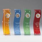 表彰楯イージーオーダー・ビーナスアワード・ウェーブ(300×85mm)格式高い表彰式・授賞式に最適な表彰楯・送料無料