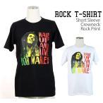 ロックtシャツ バンドtシャツ パンク Bob Marley ボブ マーリー Mサイズ Lサイズ 黒色 白色