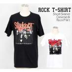 ロックtシャツ バンドtシャツ パンク Slipknot スリップノット ALL MEMBER Mサイズ Lサイズ 黒色 白色