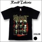 ロックtシャツ バンドtシャツ パンク Slipknot スリップノット Sサイズ Mサイズ Lサイズ 黒色