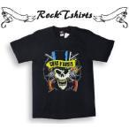 ロックtシャツ バンドtシャツ パンク Guns N' Roses GN'R ガンズ アンド ローゼズ Sサイズ Mサイズ Lサイズ 黒色