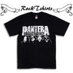 ロックtシャツ バンドtシャツ パンク Pantera パンテラ Sサイズ Mサイズ Lサイズ 黒色