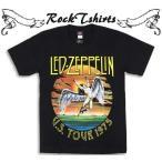 ロックtシャツ バンドtシャツ パンク Led Zeppelin レッド ツェッペリン Sサイズ Mサイズ Lサイズ 黒色