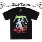 ロックtシャツ バンドtシャツ パンク Metallica メタ