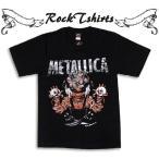 ロックTシャツ Metallica メタリカ Mサイズ Lサイズ 黒色