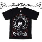 ロックtシャツ バンドtシャツ パンク Jimi Hendrix ジミ ヘンドリックス Mサイズ Lサイズ 黒色