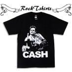 ロックtシャツ バンドtシャツ パンク Johnny Cash ジョニー キャッシュ Sサイズ Mサイズ Lサイズ 黒色