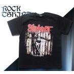 ロックtシャツ バンドTシャツ パンク SlipKnot スリップノット M Lサイズ 黒色