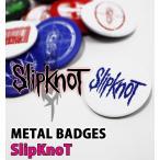 ロック缶バッジ12個入りセット SLIPKNOT スリップノット