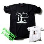 おもしろtシャツ パロディtシャツ メンズ デザインTシャツ LIFE ALWAYS HAS TWO SIDES Mサイズ 黒色 白色 パロディTシャツ メンズ レディース