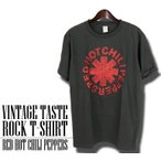 ヴィンテージロックtシャツ バンドtシャツ パンク レッド ホット チリ ペッパーズ Mサイズ Lサイズ 黒色