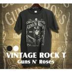 ヴィンテージロックtシャツ バンドtシャツ パンク ガンズ アンド ローゼズ Mサイズ Lサイズ 黒色 白色