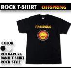 ロックTシャツ オフスプリングThe Offspring Sサイズ Mサイズ Lサイズ 黒色 白色