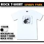 ロックtシャツ バンドtシャツ パンク Linkin Park リンキンパーク スプレーロゴ Sサイズ Mサイズ Lサイズ 黒色 白色