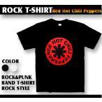 ロックtシャツ バンドtシャツ パンク Red Hot Chili Peppers レッドホットチリペッパーズ お馴染みマーク Sサイズ Mサイズ Lサイズ 黒色 白色画像