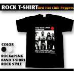 ロックtシャツ バンドtシャツ パンク Red Hot Chili Peppers レッド ホット チリ ペッパーズ 股間靴下 Mサイズ Lサイズ 黒色 白色
