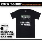 ロックtシャツ バンドtシャツ パンク Rage Against th