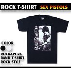 ロックTシャツ Sex Pistols シド ヴィシャスのイケない遊び Mサイズ Lサイズ 黒色 白色