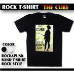 ロックTシャツ THE CURE ザ キュアー ギターの青年 Mサイズ Lサイズ 黒色 白色