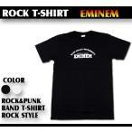 ロックTシャツ EMINEM エミネム シンプルロゴ Mサイズ Lサイズ 黒色 白色