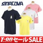 2017 春夏 シナコバ×サルジニア SINA COVA SARDEGNA 半袖Tシャツ ゴルフウェア メンズ