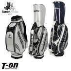 ショッピングキャディバッグ キャディバッグ メンズ レディース ブラック&ホワイト Black&White  ゴルフ