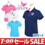 【30%OFFセール】クランク 日本正規品 CLUNK 半袖ポロシャツ ゴルフウェア レディース