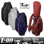 ショッピングキャディバッグ キャディバッグ メンズ レディース ダンスウィズドラゴン DANCE WITH DRAGON   ゴルフ