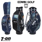 ショッピングキャディバッグ キャディバッグ メンズ レディース エドウィン エドウィンゴルフ EDWIN golf  ゴルフ