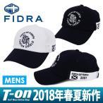 キャップ メンズ フィドラ FIDRA 2018 春夏 ゴルフ