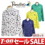 【30%OFFセール】ポロシャツ メンズ パラディーゾ PARADISO 2017 秋冬 ゴルフウェア