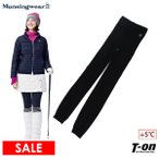 【30%OFFセール】ニットレギンス レディース マンシングウェア Munsingwear 2019 秋冬 新作 ゴルフ