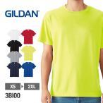 Tシャツ メンズ 半袖 GILDAN ギルダン 3.8オンス パフォーマンス ドライ Tシャツ 3bi00 吸汗 速乾 スポーツ トレーニング ポリエステル ジャパンフィット