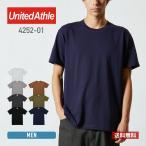 Tシャツ メンズ 無地 半袖 厚手 オープンエンドヤーン 7.1oz United Athle(ユナイテッドアスレ) 4252
