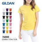 Tシャツ レディース 半袖 無地 青 赤 など GILDAN(ギ